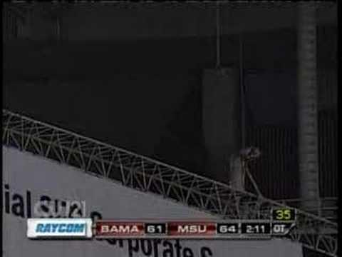 Georgia Dome Gets Hit With Tornado