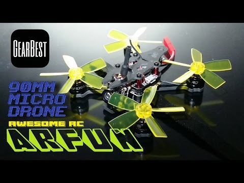 Awesome RC's ARFUN - a 90mm Brushless Micro Quad - Full Review