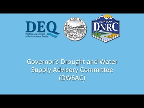 Governors Drought and Water Supply Advisory Meeting April 2017
