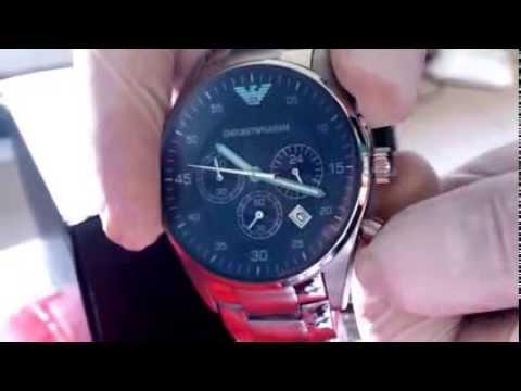 945e0f2c746 Relógio Emporio Armani Ar5860 Frete Grátis Original - YouTube