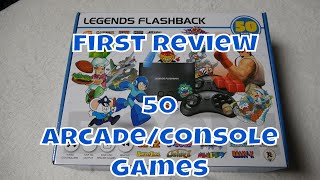Atgames Legends Flashback Review 50 Arcade & Console Games