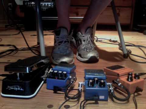 Jimi Hendrix Wah Pedal Demo and Review (JH-1b)