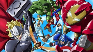 Marvel Disk Wars the Avengers - warriors - imagine dragons