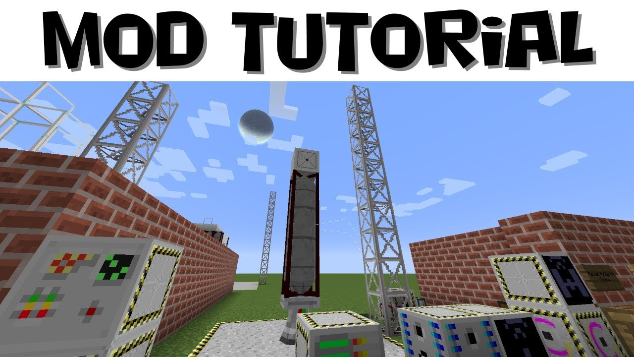 Advanced Rocketry Tutorial #5 - Launching Satellites, Data Collection &  Transfer (Minecraft 1 12 2)