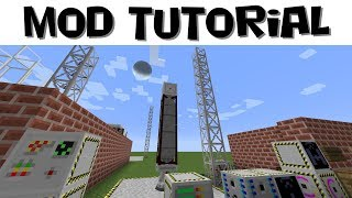 Advanced Rocketry Tutorial #5 - Launching Satellites, Data Collection & Transfer (Minecraft 1.12.2)