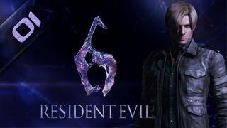 RESIDENT EVIL 6 PC - Leon 01 Gameplay Español - Max 1080p - 03