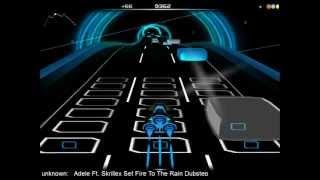 Adele Ft. Skrillex Set Fire To The Rain Dubstep [AUDIOSURF]