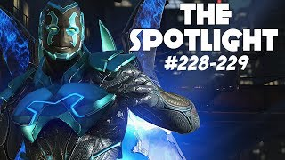 BLUE BEETLE MIRRORS!! | Injustice 2 The Spotlight #228-229