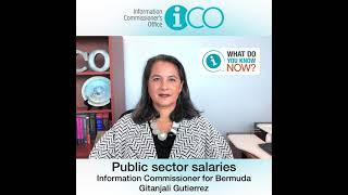 """""""What Do You Know Now?"""" Public sector salaries"""