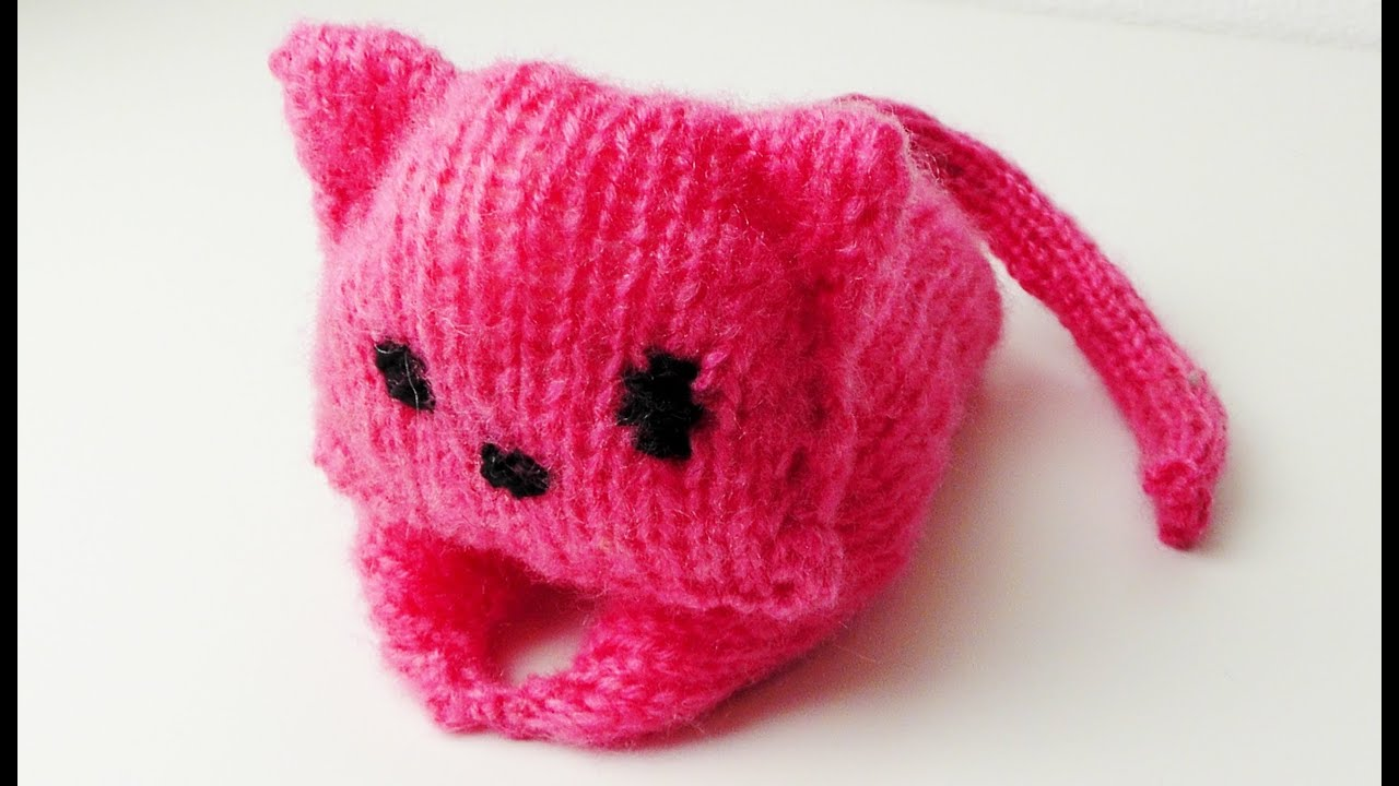 Amigurumi Katze Stricken Lernen Combined Strickmethode Youtube
