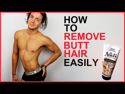 How To Remove Butt Hair Easily - Men's Grooming