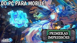 DO PC PARA O MOBILE / Aura Kingdom / GAMEPLAY ANDROID BR