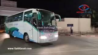 3 حافلات تنقل عاملات مصابات بكورونا من آسفي الى مستشفى الجديدة