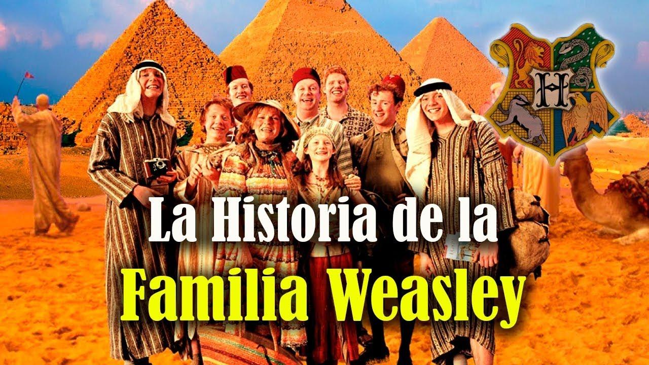 la historia de la familia weasley