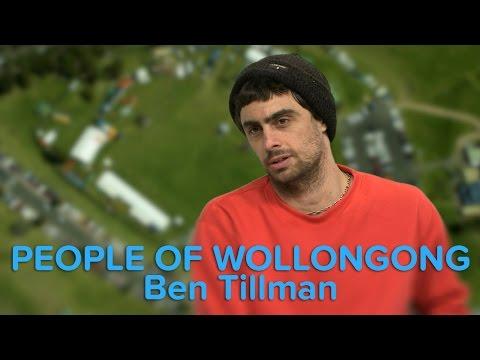 People of Wollongong - Ben Tillman