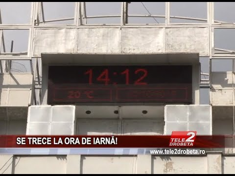 Romania trece la ora de iarna   Initiativa Romaneasca   Ora De Iarna