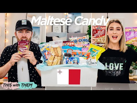British People Trying Candy from Malta - This With Them