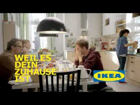 weil es dein zuhause ist k chen von ikea werbung tv werbespot online youtube. Black Bedroom Furniture Sets. Home Design Ideas