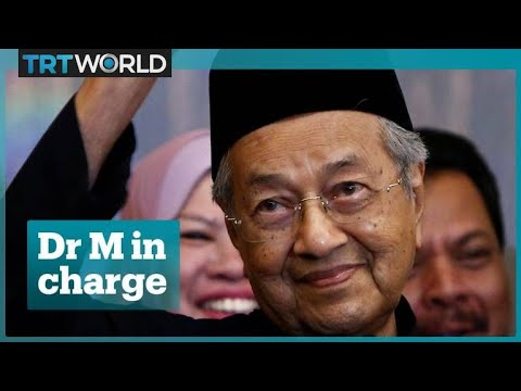 Mahathir Mohamad is Malaysia's prime minister again