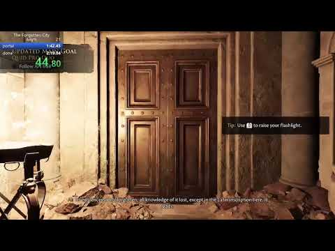 forgotten city any% soldier in 2:19.54  