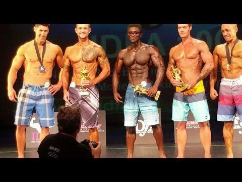 Men's Physique Competition 2016