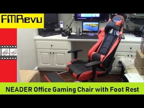 How To Assemble NEADER Office Gaming Chair   Best Affordable High Back Race  Car Gaming Chair?