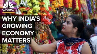 How India's Economy Is Growing At A Faster Pace Than China thumbnail