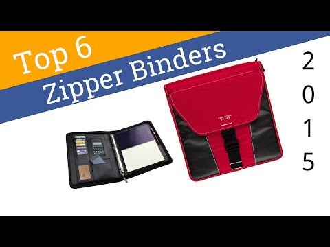 6 Best Zipper Binders 2015