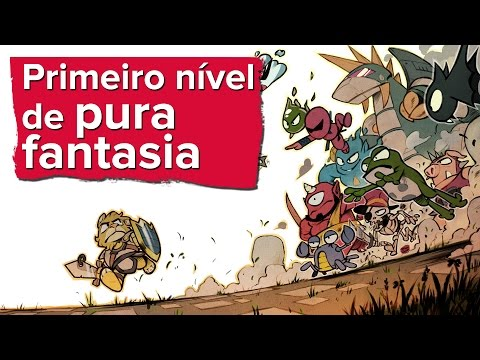 PRIMEIRO NÍVEL DE Wonder Boy: The Dragon's Trap - NINTENDO SWITCH