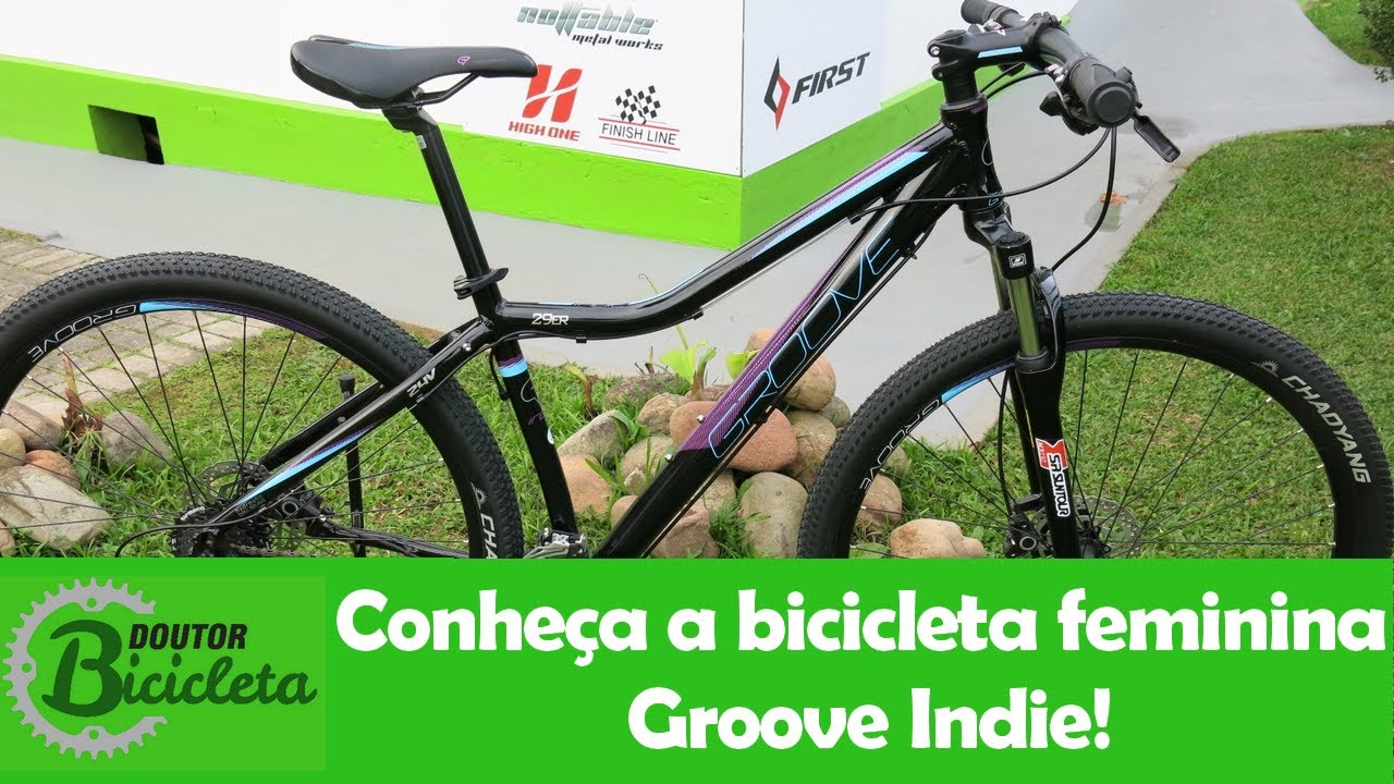 ee60d326e Unboxing - Conheça a Bicicleta Feminina Groove Indie - YouTube