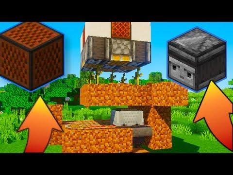 Automatyczna Farma Dyń I Arbuzów! Minecraft 1.14.4 *skkf*   Minecraft Poradnik