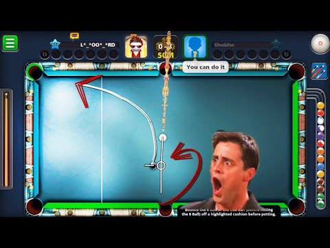8 Ball pool | Giveaway + some indirect | trickshots in Berlin.