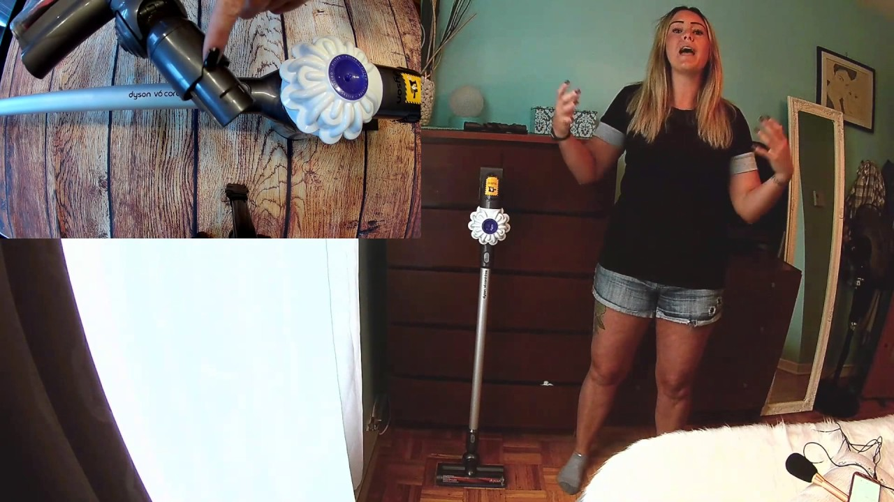 Aspirateur Balai Sans Fil V6 De Dyson Blogger Test Youtube