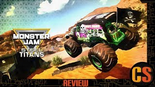 MONSTER JAM: STEEL TITANS - PS4 REVIEW (Video Game Video Review)