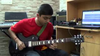 aap ki nazron ne samjha on guitar by Gunit Anand