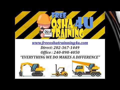 Free OSHA Training Courses