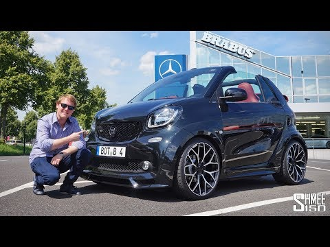 The Brabus Ultimate 125 is a €50,000 Juiced Up Smart!