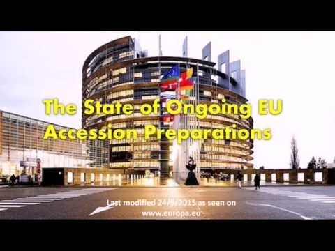 Accession to the EU : Future Enlargement: countries applying to be members