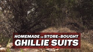 Making and Testing a Ghillie Suit