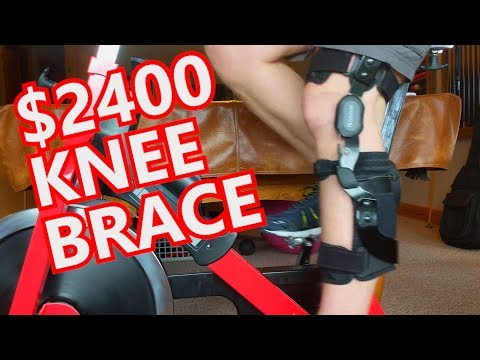 Most Expensive Knee Brace in the World? Ossur PCL Rebound Brace