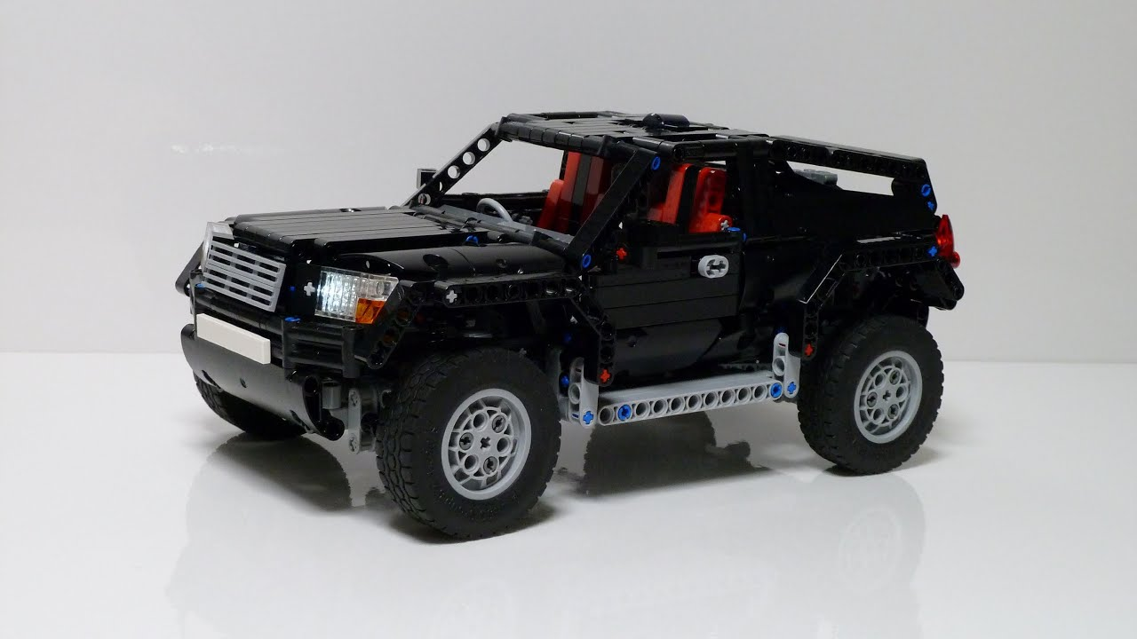 lego technic awd suv youtube. Black Bedroom Furniture Sets. Home Design Ideas