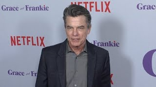 Peter Gallagher, Sam Waterston and Ernie Hudson at Grace and Frankie Season 4 premiere