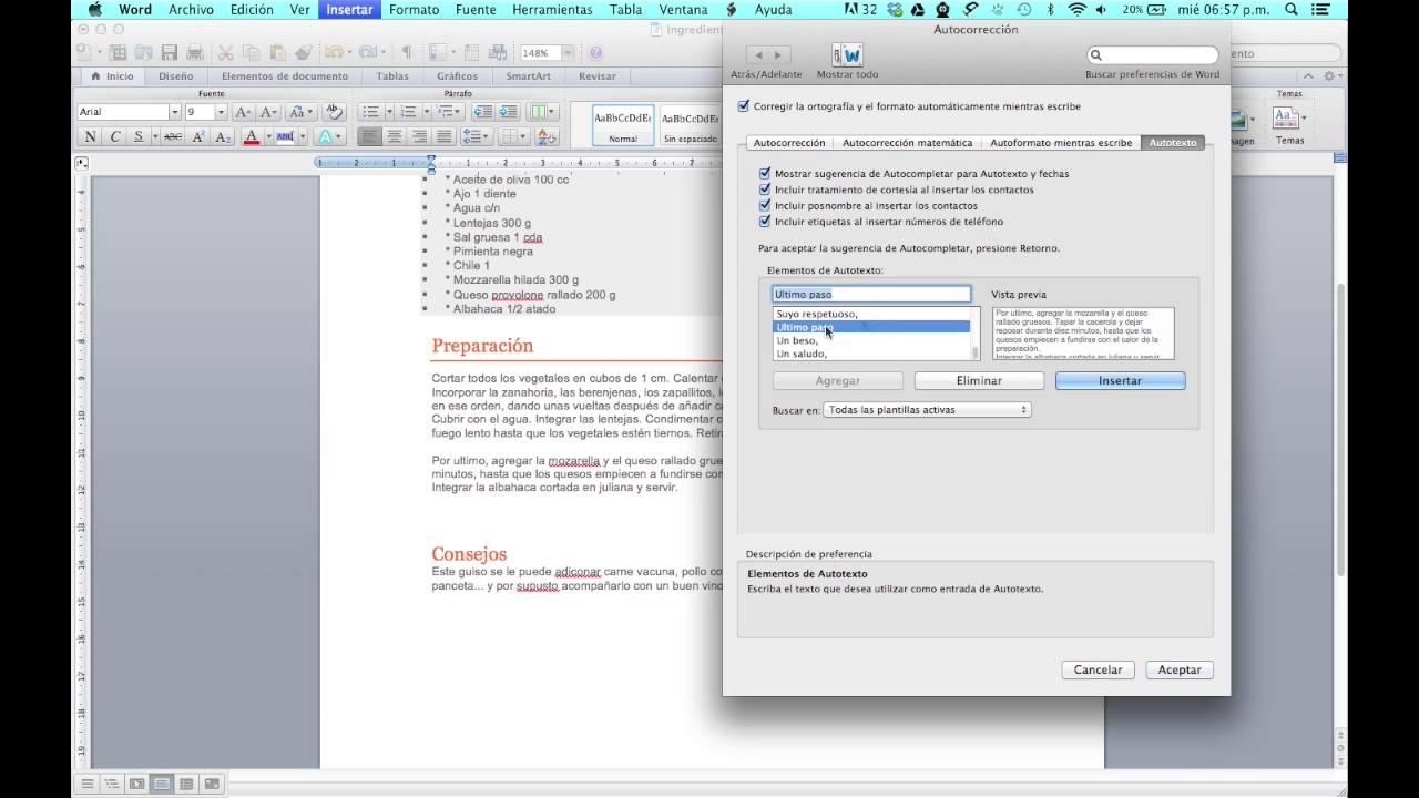 Como Editar Y Organizar Bloques De Texto En Word Youtube