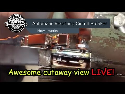 how a resetting circuit works! inside cut away of the breaker actually tripping 50 amp 12v circuit breaker auto reset circuit breaker wiring diagram #11