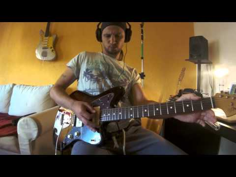 "Mudhoney - ""Touch Me I'm Sick"" Guitar-part of Mark Arm in Open A tuning (EAEAC#E)"