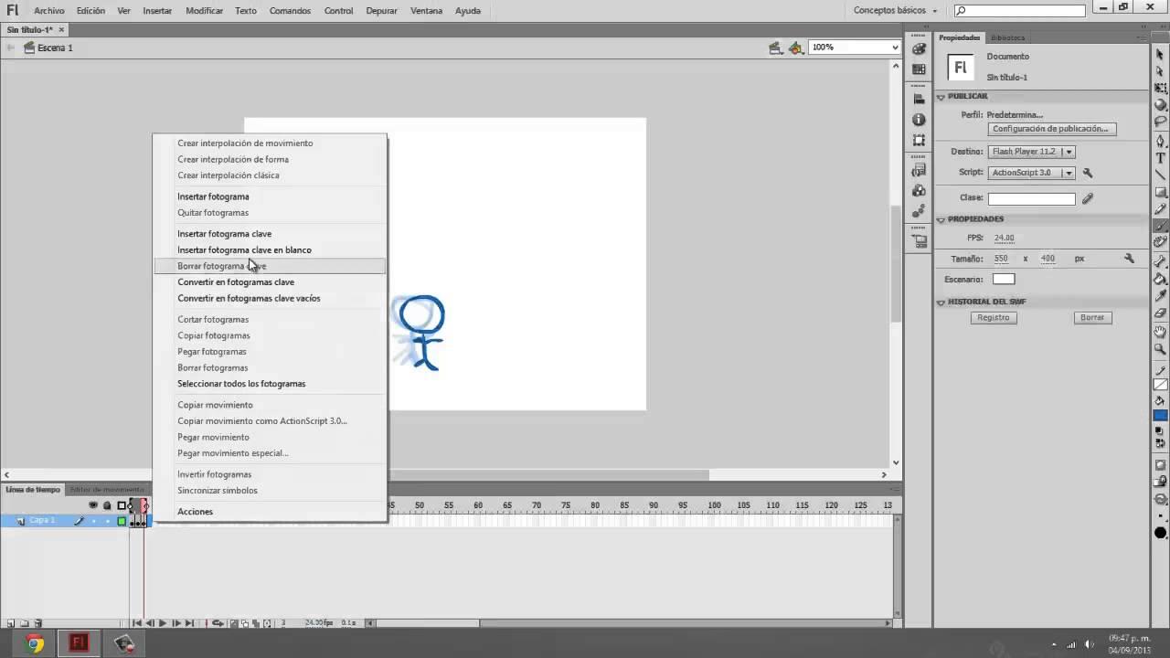 Curso Flash CS6 - Animación fotograma a fotograma (Español)(2013 ...