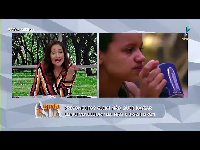 """Sonia Abrão critica comentários sobre Kaysar: """"discriminatório"""""""