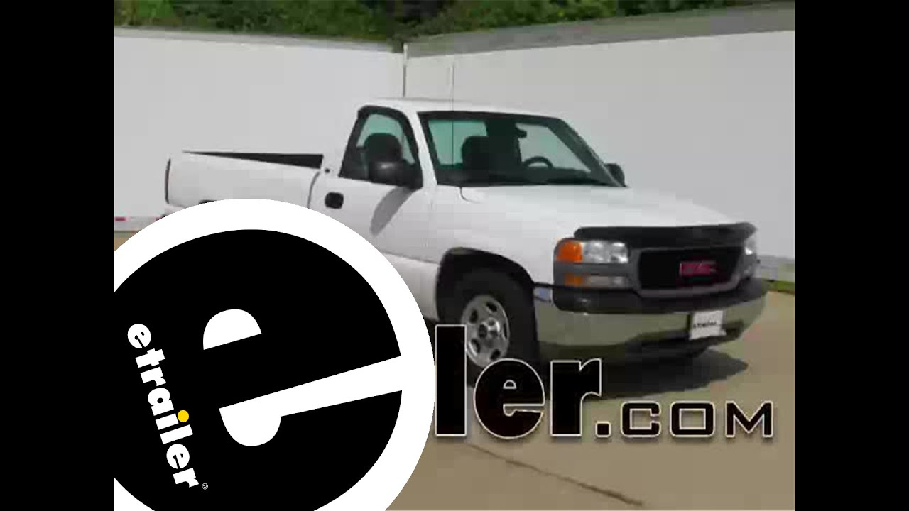 Installation of a Trailer Wiring Harness on a 2001 GMC Sierra - etrailer.com - YouTube : chevy trailer wiring harness diagram  - jdmop.com