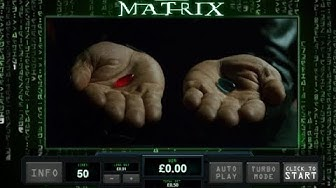 The Matrix Online Slot from Playtech with Two Free Spins Bonus Rounds