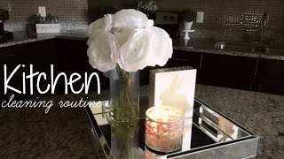 CLEAN WITH ME! KITCHEN CLEANING & DECORATING!